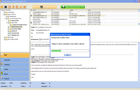 Stellar  Outlook PST repair