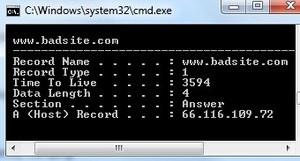 cached DNS entries verwijderen