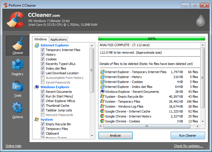 ccleaner piriform review