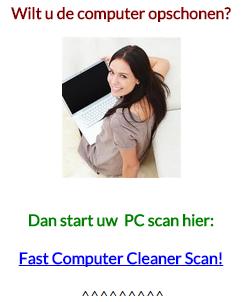 computer opschonen