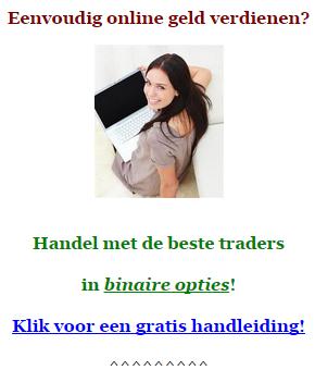 sponsor ad - gratis handelsgids binaire opties