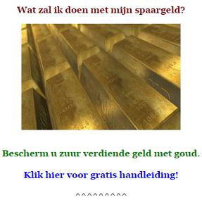 promotie goud
